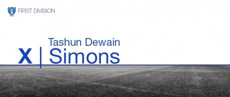 Tashun Dewain Simons
